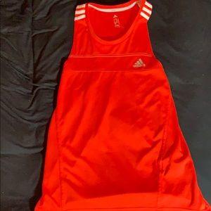 Adidas running workout shirt